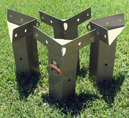 E Z Tower Hunting Blind Brackets A wide variety of stand brackets options are available to you, such as quality certification, usage, and material. e z tower hunting blind brackets